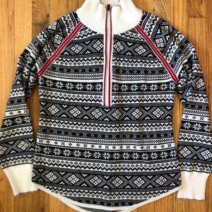 Eddie Bauer Sweater 1/4 ZIP